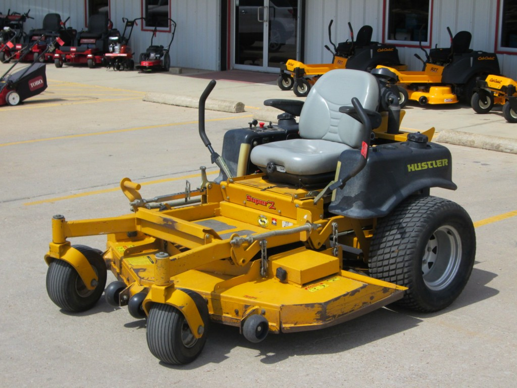 Pay Hustler super z mower